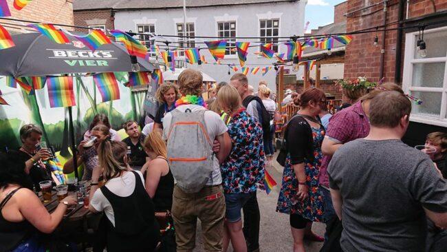 Best gay bars Nottingham LGBT nightlife dating lesbians
